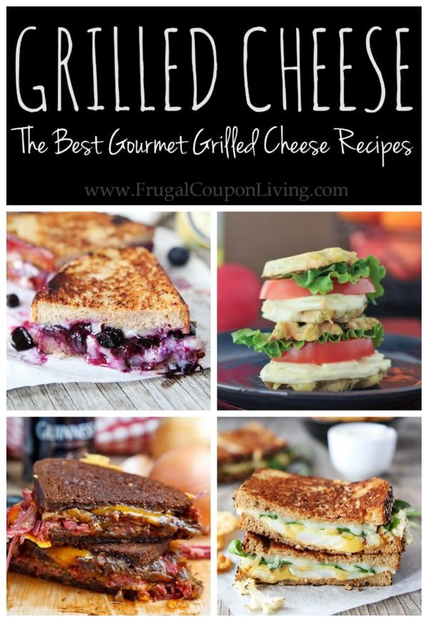 Grilled Cheese Recipes - Amazing ideas and creations for the best gourmet grilled cheese recipes!