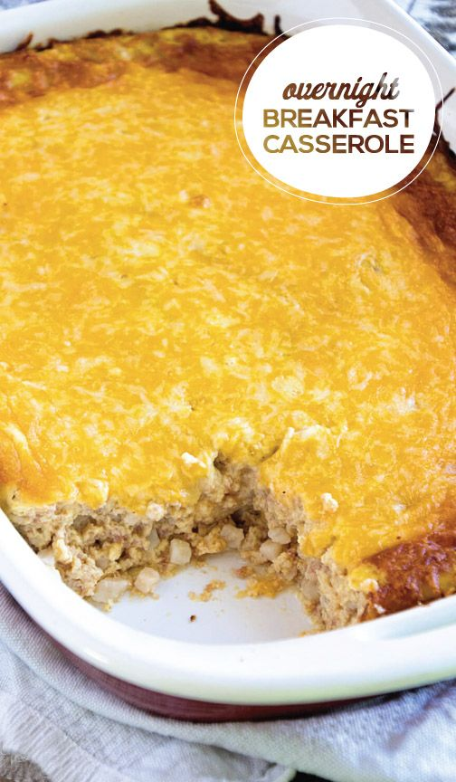 Whether you're serving a crowd for brunch or simply want to treat your family to a hearty meal, this Overnight Breakfast Casserole featuring MARY KITCHEN® Corned Beef Hash is as simple to make as it is a time saver. Simply prep the casserole the night before and pop it in the oven in the morning—it's that easy. Filled with flavorful corned beef, gooey cheese and a dash of hot sauce, this casserole is sure to be a hit!