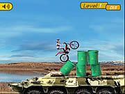 Bike Mania 5 Flash Game. Bike Mania series is back again. This time it is all about military vehicles and obstacles. Play Free Fun Bikes Games Online.