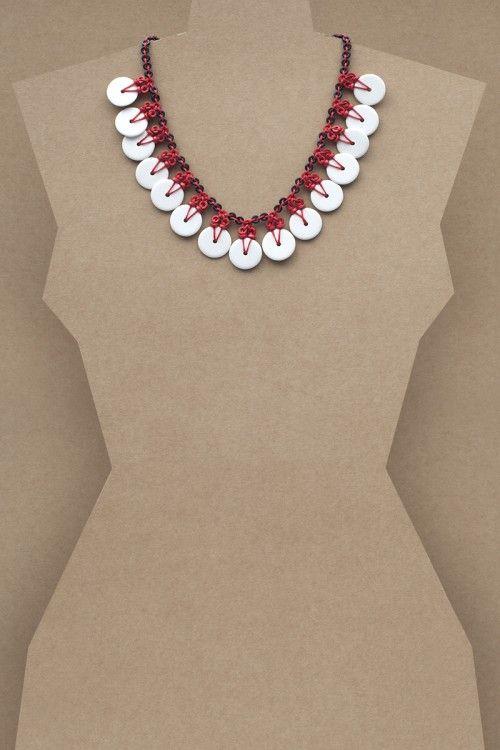 Maya Necklace #necklace #jewellery #jewelry #fashionaccessories #accessories #beadednecklace #ceramicbeads #ethnicstyle #bohostyle