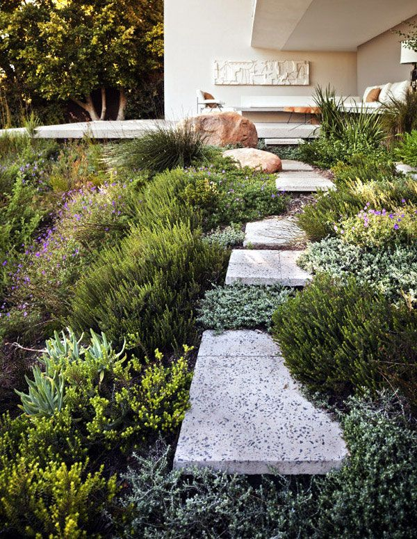 Landscaping Bridle Road Residence bridle road residence greenery