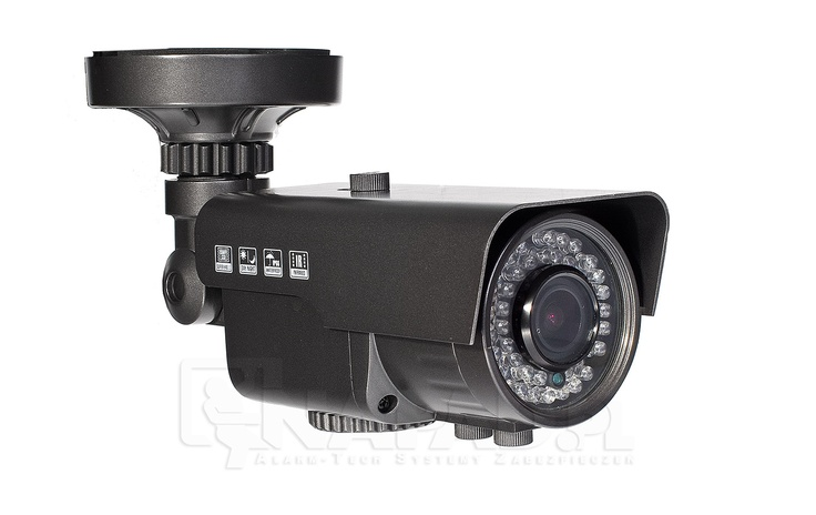 Kolorowa kamera AT VI600 2.8-12 z polskim menu OSD. Przetwornik 1/3 SONY 600/700TVL Regulowany obiektyw 2.8-12mm Funkcje: ATW AWB BLC AGC AES 2DDNR DWDR.    Kamera do monitoringu VI600 z oświetlaczem IR jest kamera do całodobowej obserwacji chronionych miejsc. Możliwość regulacji ogniskowej obiektywu pozwala prowadzić precyzyjny monitoring. Oświetlacz IR gwarantuję rejestrację obrazu w nocy. Funkcje korekcji obrazu chronią materiał AV przed zakłóceniami.   Zobacz inne modele…