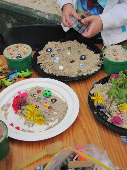 "Irresistible Ideas for play based learning: 'Cooking' outdoors ("",)"