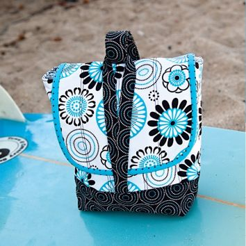 Debbie Hogan's Insulated Lunch Bag with Drink Pouch