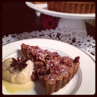 Spiced #Pecan Pie & Egg Nog Ice Cream #Recipe for #Thermomix