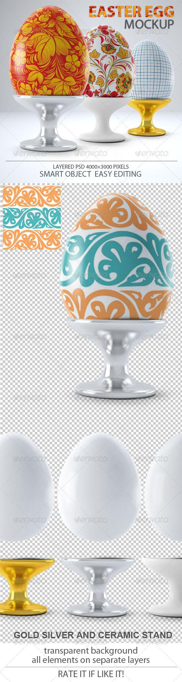 Easter Egg Mock-up 4$