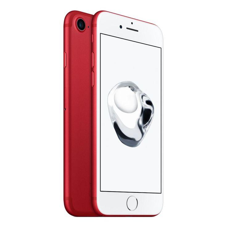 Apple iPhone 7 mobiltelefon, kártyafüggetlen, 128GB, LTE, (Product) Red Special Edition
