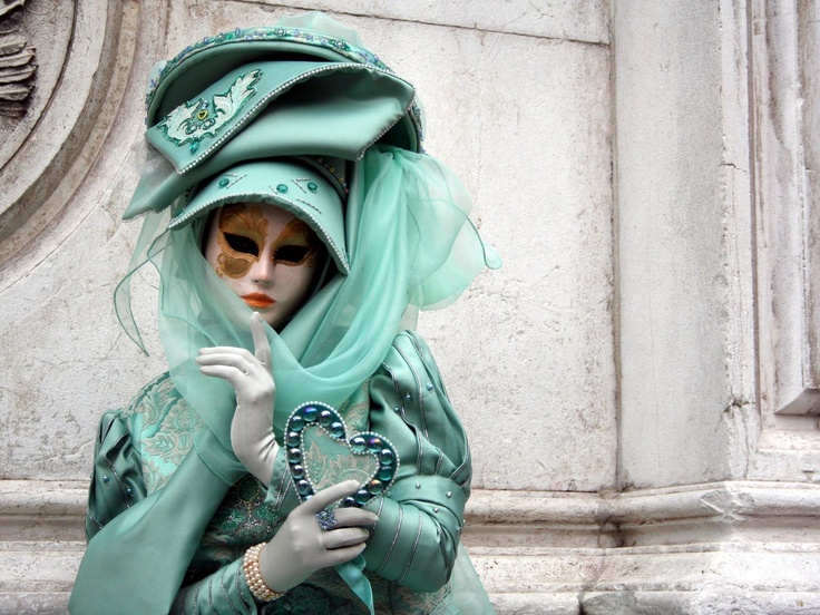 Disfraz máscara veneciana: Venice Carnivals, Partycarnivalew Inspiration, Masque Ball, Fashion Week, Venice Mask, Masks, Masquerades Partycarnivalew, Green Masks, Carnivals Masks