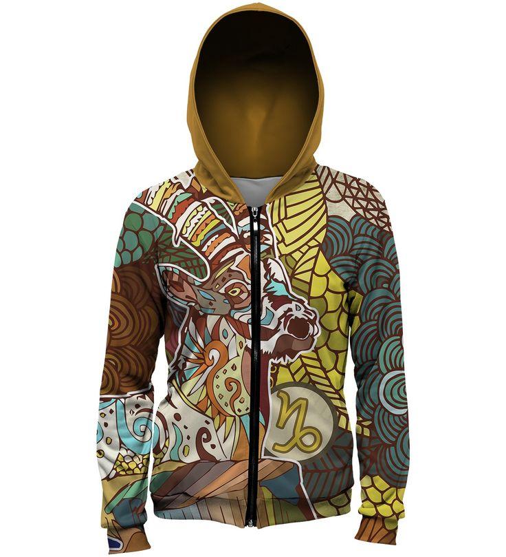 Capricorn hoodie, Mr. GUGU & Miss GO
