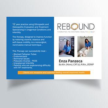 Postcard - Osteopathy - Healthcare Design & Print