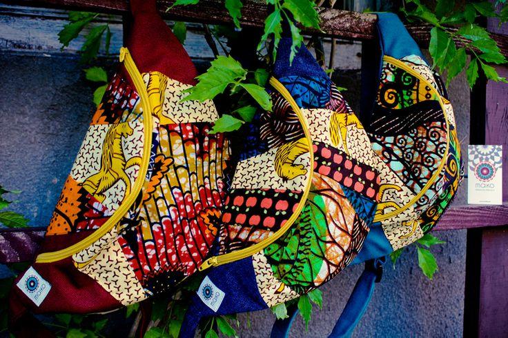 Biodrówka AFRICA print w maiko na DaWanda.com #Africanfashion