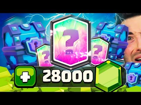 """EL COFRE DENIGRANTE"" ABRIENDO COFRES SUPERMÁGICOS CON 14.000 GEMAS! 