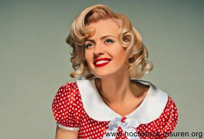 20 Rockabilly Frisuren: von market 50er inspiriert!   Hochsteck Frisuren