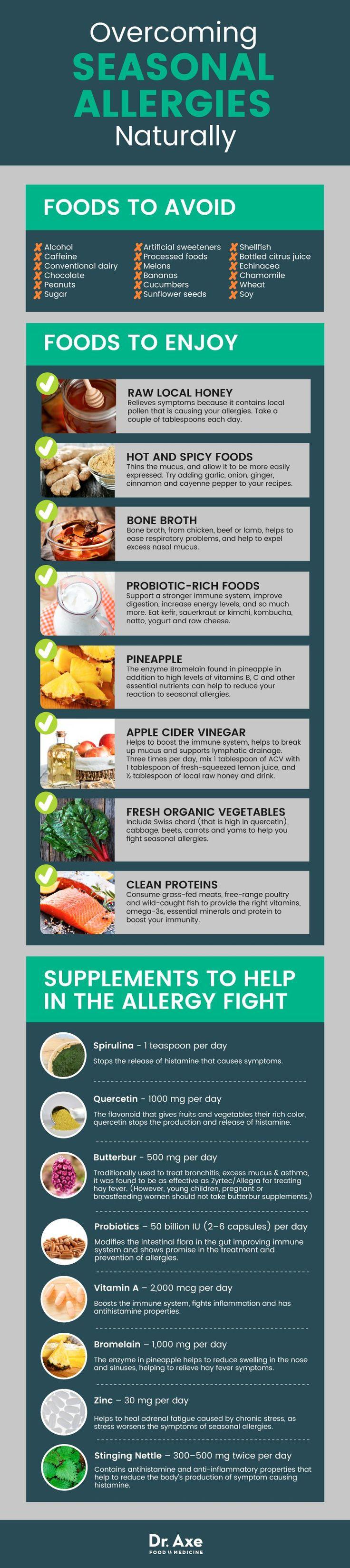 Seasonal Allergy Symptoms: Natural Treatments