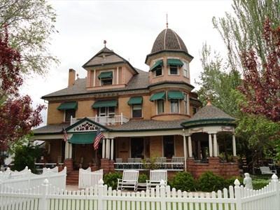 George Carter Whitmore Mansion - Nephi, Utah - Victorian Houses on Waymarking.com