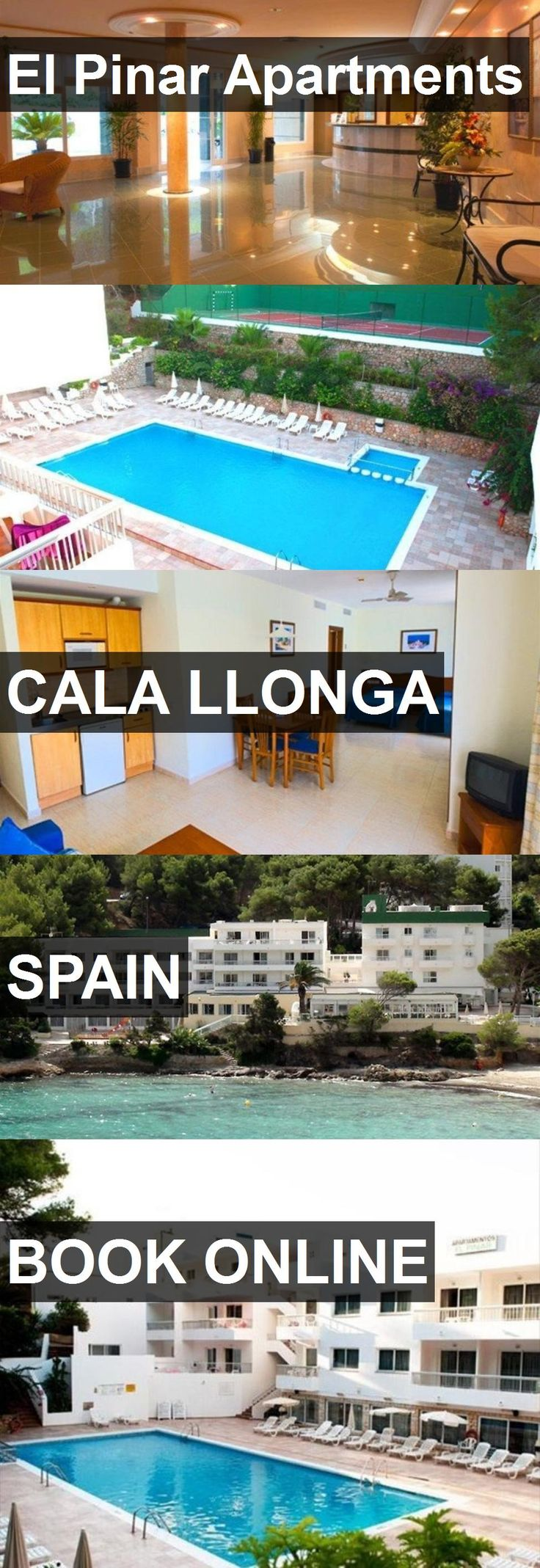 El Pinar Apartments in Cala Llonga, Spain. For more information, photos, reviews and best prices please follow the link. #Spain #CalaLlonga #travel #vacation #apartment