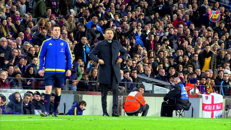 Luis Enrique during FC Barcelona vs Sevilla