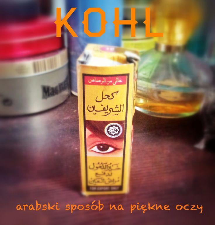 Kohl - arabski sposób na piękne oczy ///  Kohl - arabic way to make your eyes beautiful