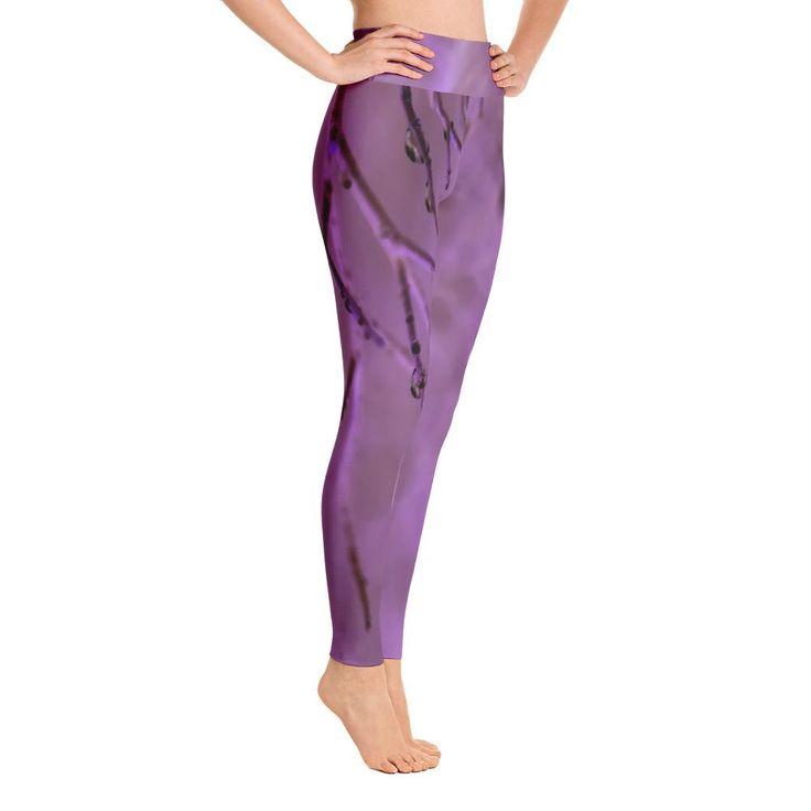 Violet Viola Yoga Leggings