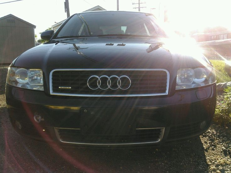 Car brand auctioned:Audi A4 QUATTRO 2003 Car model audi a 4 quattro midnight blue