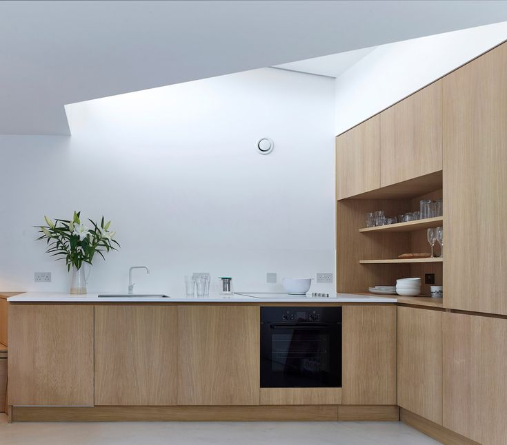 Whole House is a minimal house located in London, United Kingdom, designed by Hayhurst and Co. Whole House is a house full of contradictions: a house with large ideas on a small garage site. A house with no windows that is flooded with light. A unique house for a speculative developer client. Our client for Whole House wished to maximize the development potential of this unloved garage site in south London. Bounded by back gardens to Victorian and inter-war housing and a super-sized 1990s…