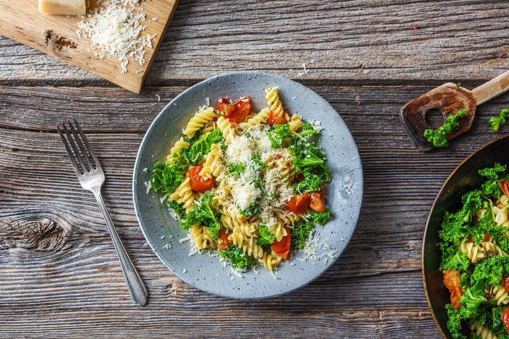One-Pot Lemon & Kale Fusilli Recipe | HelloFresh