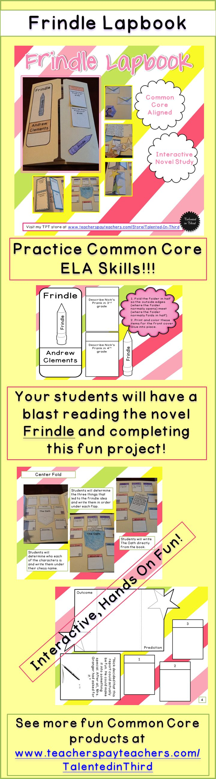 Frindle Novel Study/Frindle Unit