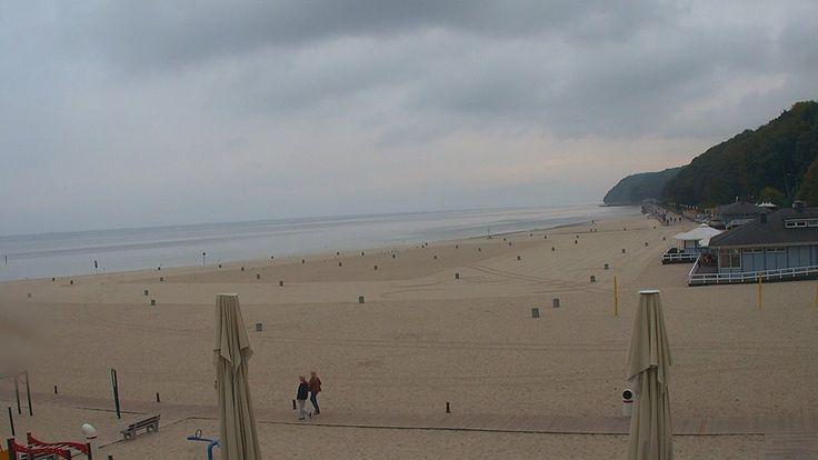 Gdynia, 12.38 http://xc.pl/gdynialive - kamera HD na żywo z gdyńskiej plaży