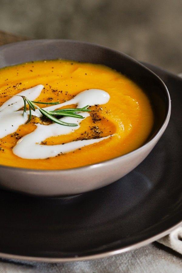 Sopa de abóbora clássica com hokkaido e leite de coco   – Rezepte