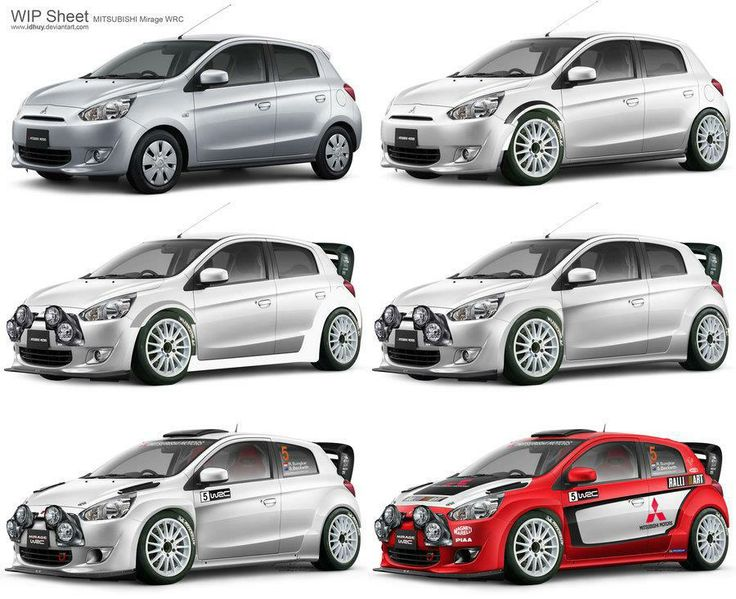 Highlight And Shading Fully Manual Brushed In Photo Critics Comments Are Welcome Mitsubishi Mirage Wrc Wip Sheet