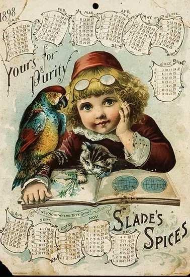 Vintage Calendar Art : Best vintage calendar art images on pinterest