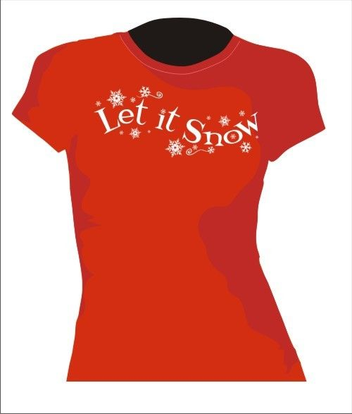 Let It Snow  vector graphic  Digital Download  for by Pixelrella