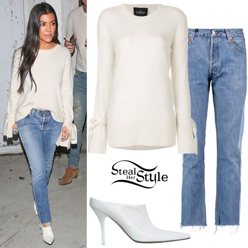 Kourtney Kardashian Clothes & Outfits | Steal Her Style