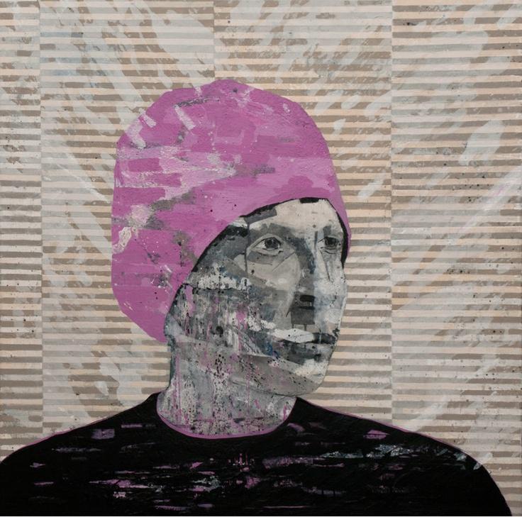 "Erik Formoe; Acrylic, 2012, Painting ""Pink"""