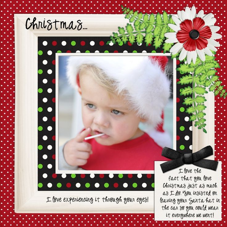 Santa's Little Helper - Scrapbook.com