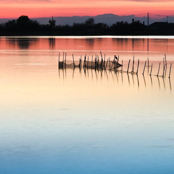 Cavallino Treporti lagoon, Cavallino Tre Porti-Italy, province of Lecce Puglia