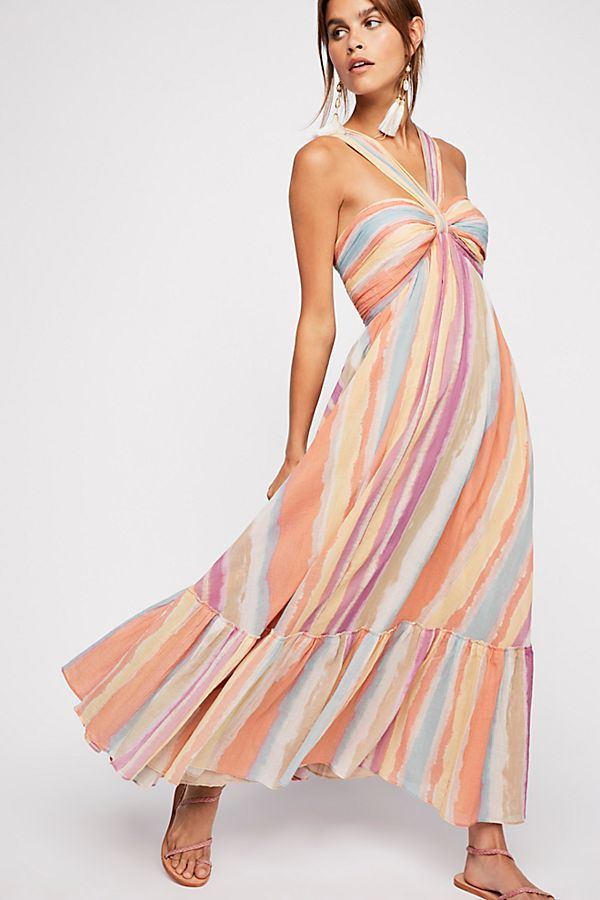 ebb551af745c7 Slide View 2: Tropical Sunrise Maxi Dress Free People Dress, Budget  Fashion, Maternity