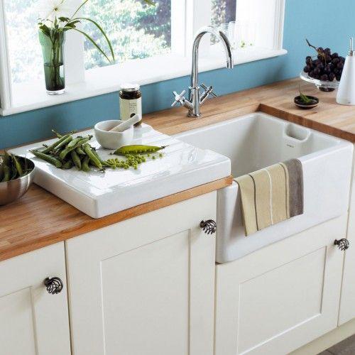 Waschbecken küche weiß  Die 25+ besten Küchenspüle keramik Ideen auf Pinterest ...