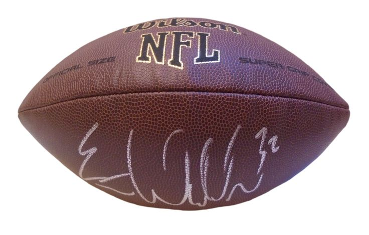 Eric Weddle Autographed NFL Wilson Composite Football, Proof Photo. Eric Weddle Signed NFL Football, Baltimore Ravens, San Diego Chargers, Utah Utes, Proof  This is a brand-new Eric Weddle autographed NFL Wilson composite football.  Eric signed the football in silver paint pen. Check out the photo of Eric signing for us. ** Proof photo is included for free with purchase. Please click on images to enlarge. Please browse our website for additional NFL & NCAA football autographed...