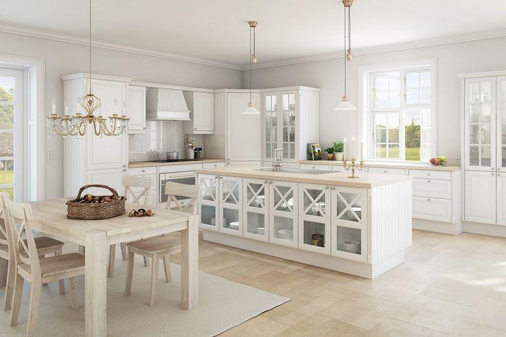 Ala vores køkken... Hvid stil fra svane!! Love it.
