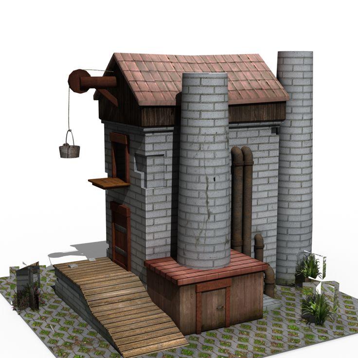 Modelado y texturizado medieval