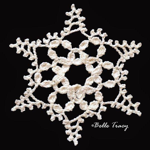 Free Irish Crochet Snowflake Pattern : 17 Best images about Crochet Snowflakes on Pinterest ...