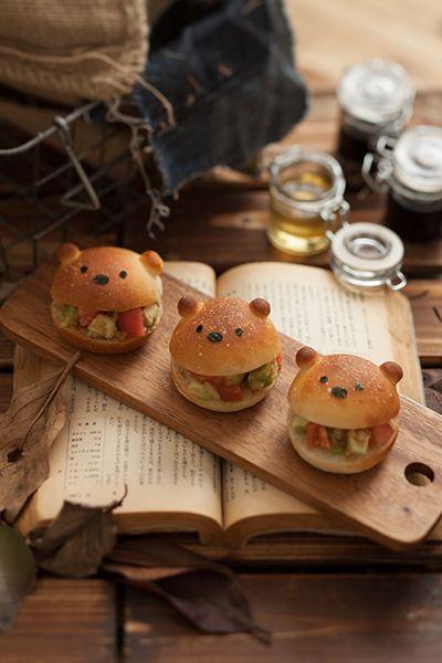 abocado and tomato sandwiches