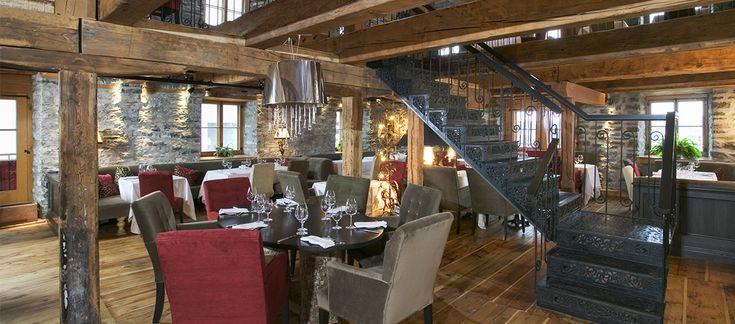 Le restaurant Panache