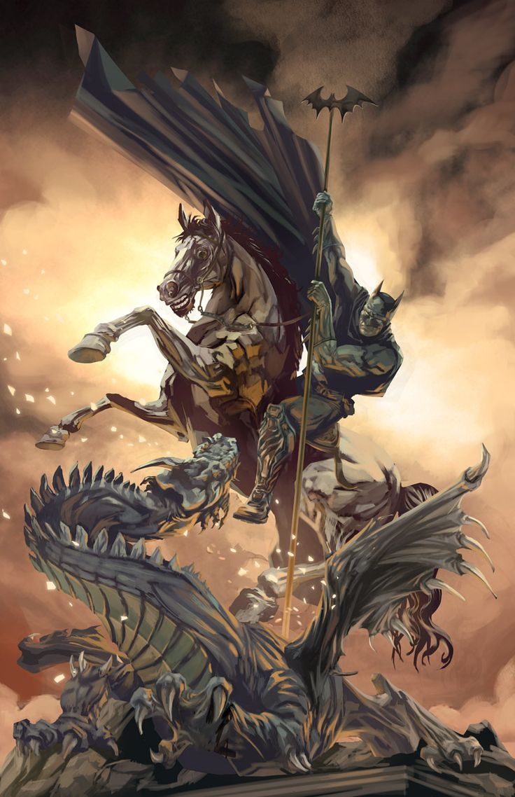Allegorical HeroesbyJosé Quintero Batman,... | IanBrooks.me