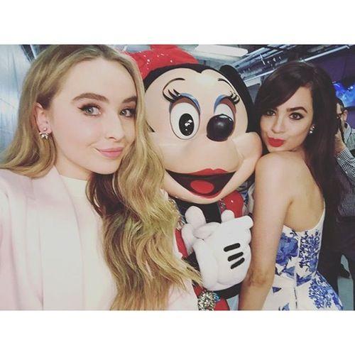 sofia carson | Sabrina Carpenter and Sofia Carson with Minnie Mouse