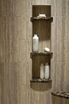 Image result for vertical running wall tile shower