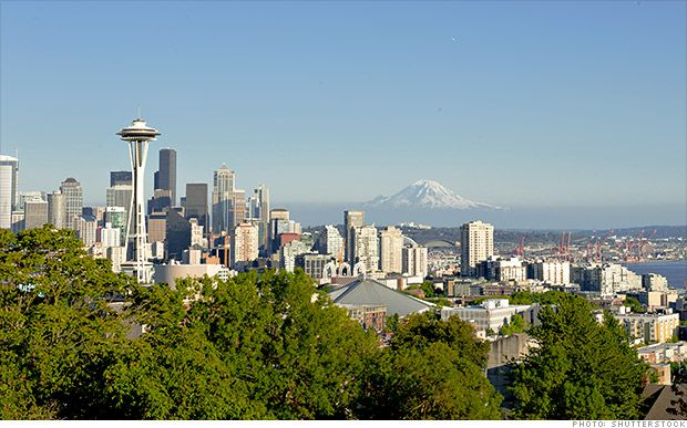 Seattle has some great coffee, a thriving music and arts scene and, most importantly, jobs. Home to Microsoft, Amazon.com and Boeing, a...