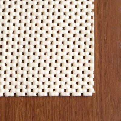 Best Symple Stuff Gardiner Non Slip Rug Pad 25 Polyester 400 x 300