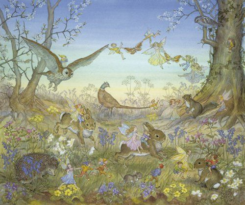 Fairy Time by Molly Brett - art print from King & McGaw